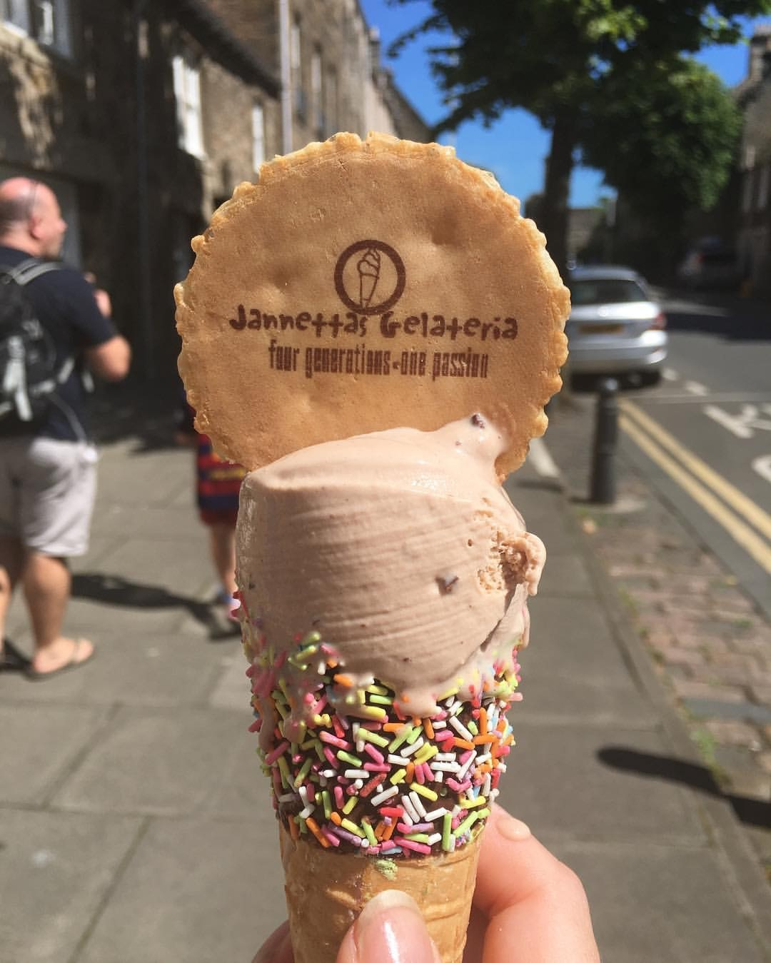 Janettas ice cream, St Andrews